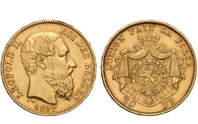 10 Φιορίνι Ολλανδίας (1877)