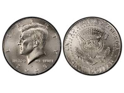 1/2 Δολάριο Kennedy (400°)