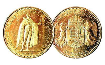 Χρυσή Κορόνα Ουγγαρίας 1892