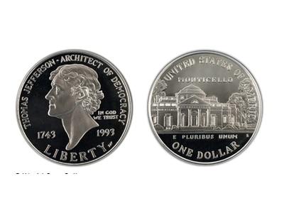 1 Δολάριο T. Jefferson