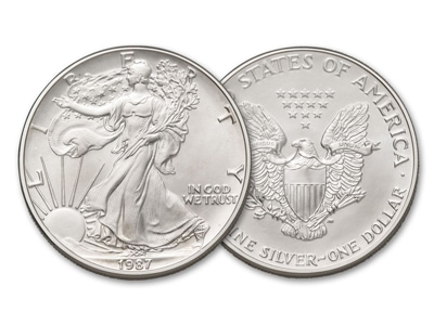 1 Δολάριο American Silver