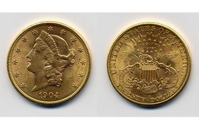 20 Δολάρια του 1904